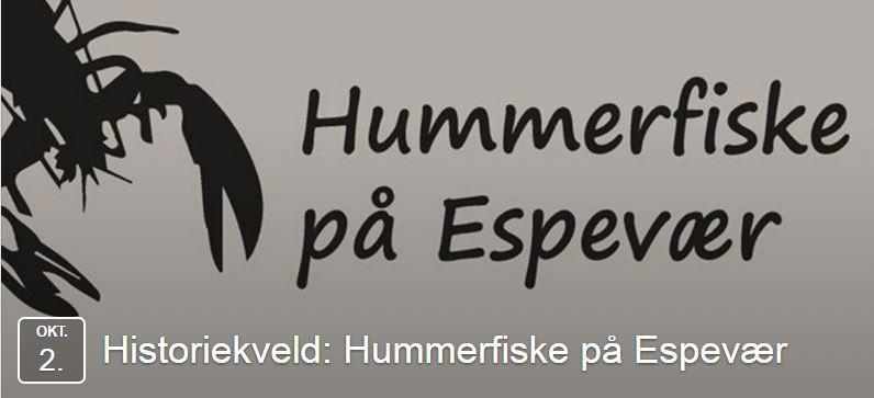 Historiekveld - Hummerfiske på Espevær