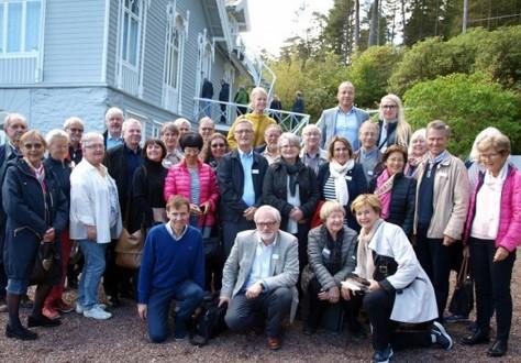 Vertskap for FNM årsmøtet i Bergen var Troldhaugens venner ved Anders Aarheim, Lysøens venner ved Bjørn Laastad og Troldhaugens venner ved Anne Asserson. Du får frem en strukturert billedfremvisning ved å velge et bilde.