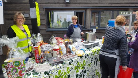 Loppemarked på Stasjonsfjellet skole, september 2016.