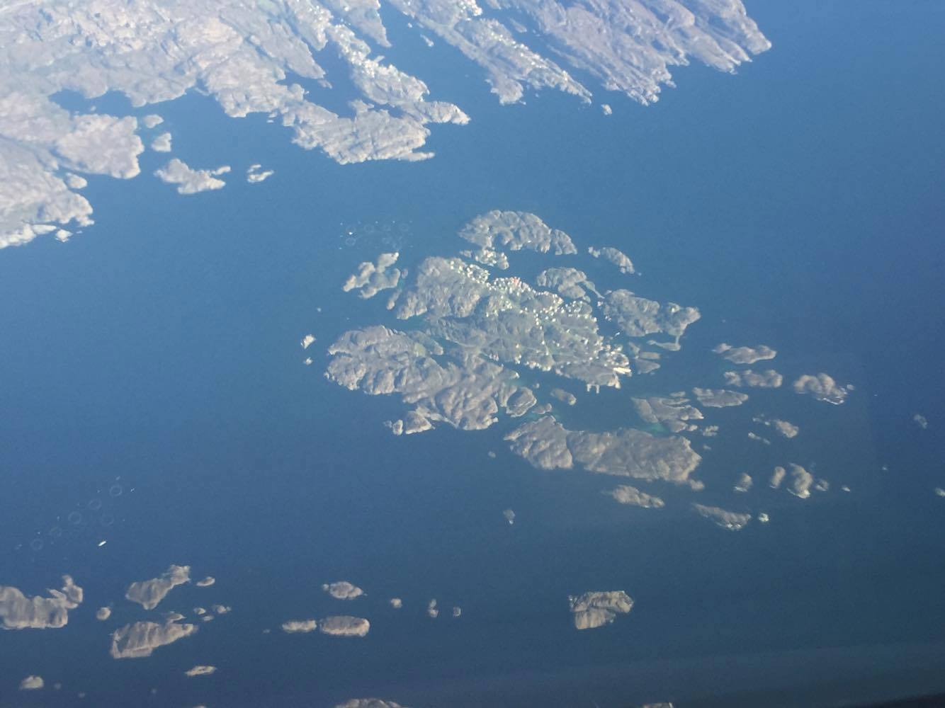 Flyfoto av Espevær