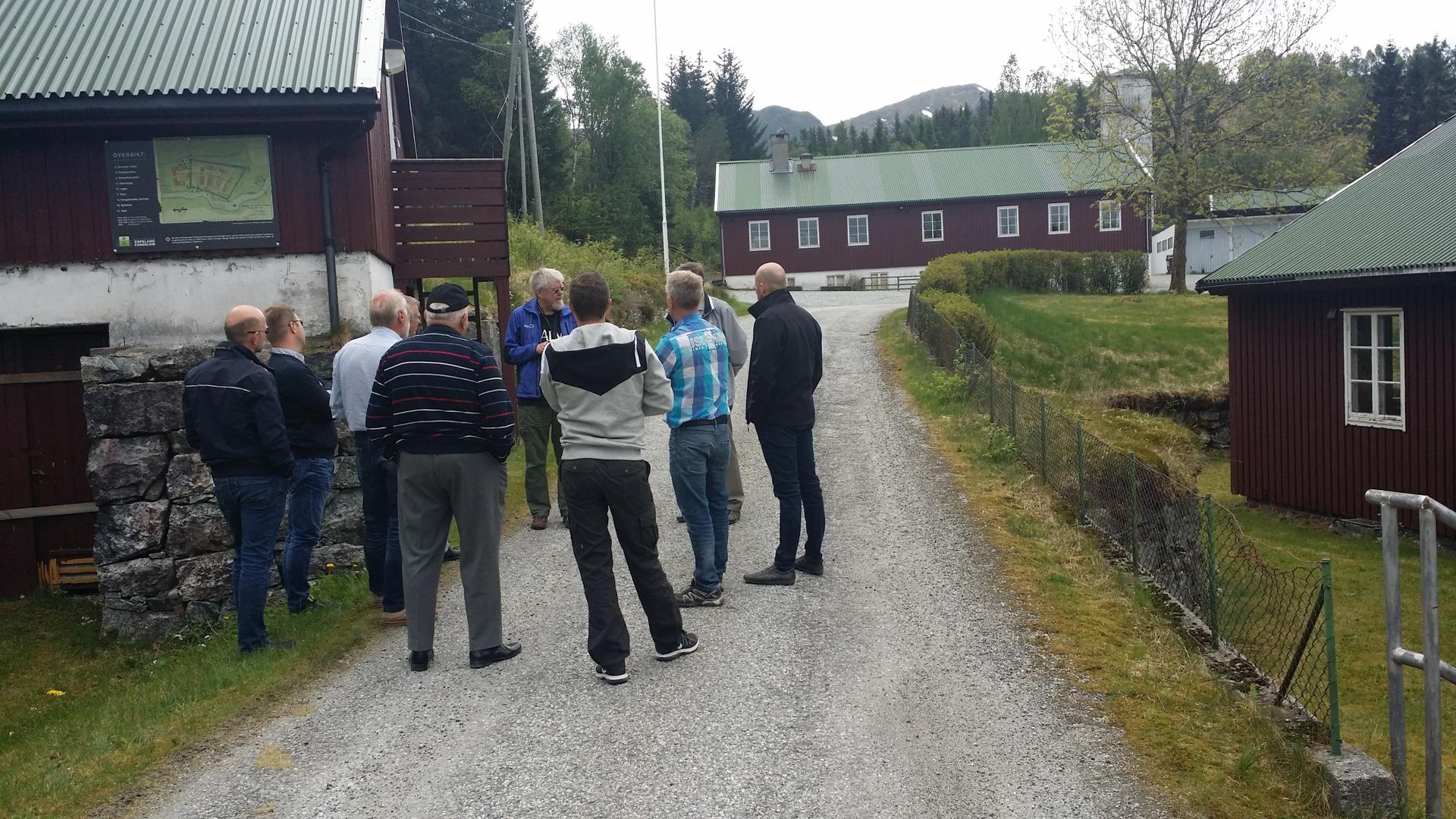 Vårtur til fangeleiren på Espeland 2016