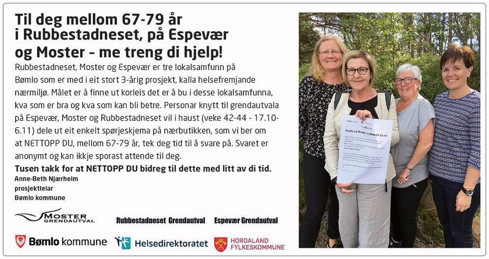 Prosjekt Helsefremjande nærmiljø