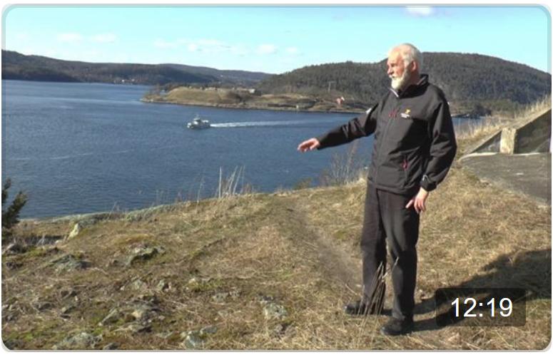 Guide Morten Svinndal forteller om 9. april, obers