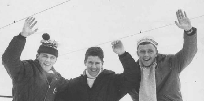 Historiske bilder fra NIL Ski