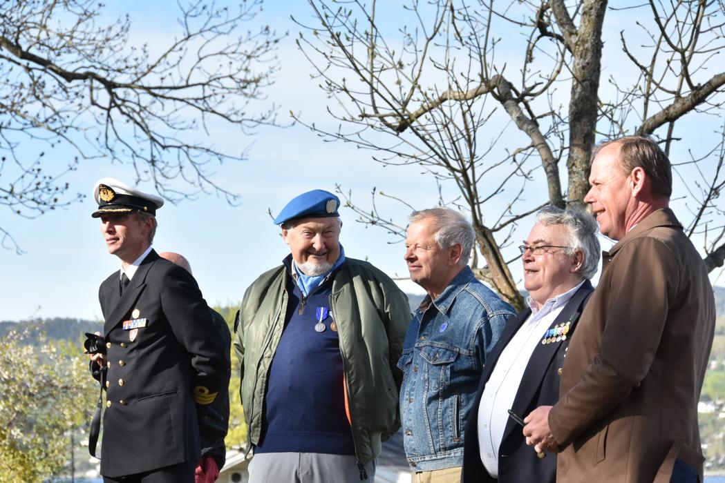Kommandanten og veteraner