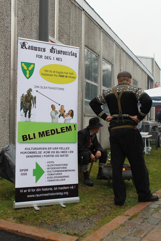 Stand på Årnes september 2013