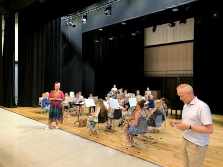 15.juni hadde vi sommeravslutning for hovedkorps og juniorkorps i Varen. I tillegg til flotte musikalske innslag sto også utdeling av medaljer, samt servering av is og jordbær. Voksenkorpset deltok også.