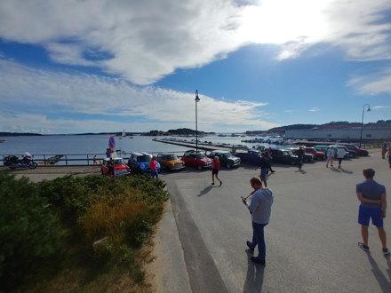 Mini Mafia arrangerte 30.august Sjarmøretappen 2020, tur til Skjærhalden på Hvaler.