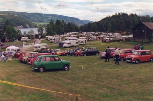 Litt bilder fra Norsk Mini Cooper Club sitt sommertreff i 1996. Treffet var på Fagernes