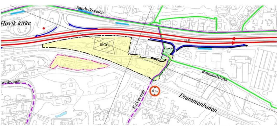 E18 kart ved Høvik.PNG