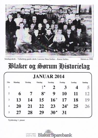 Kalender - 2014