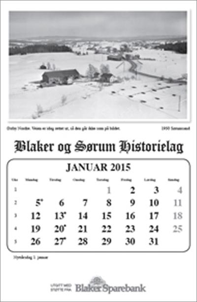 Kalender - 2015