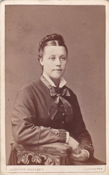 Oldemor Pauline Nilsdatter - foto Josefine Grundse