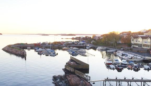 Bilder av TofteBåtforenings havn.