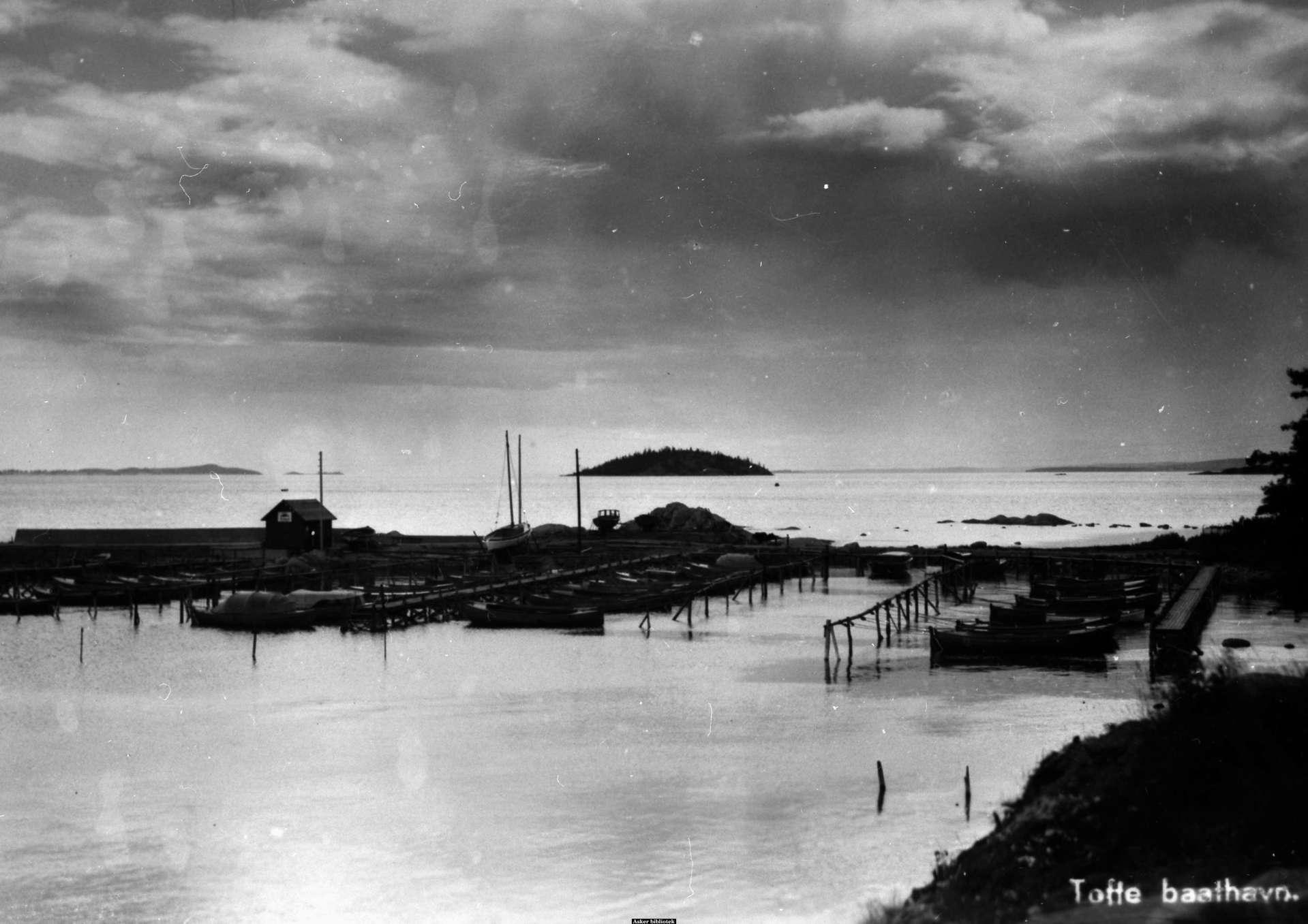 Tofte båthavn 1930.jpg