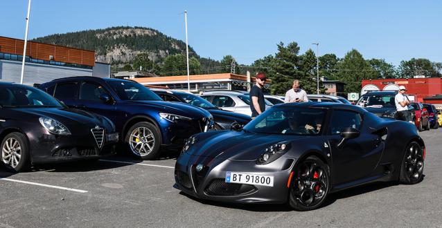 Foto: DANIEL WIDNES. Fra Alfanytt #3/2020 – medlemsblad for Klubb Alfa Romeo Norge. Gjenbruk er kun tillatt med Alfanytt-redaktørens skriftlige samtykke.