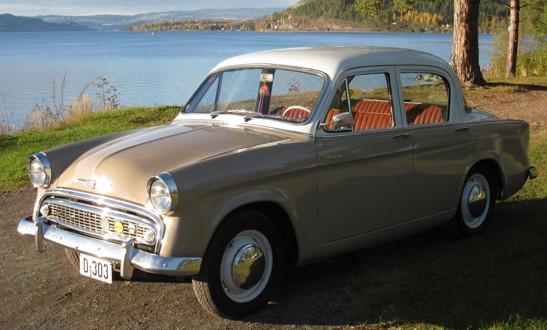 Hillman er den den bilen fra Rootes konsernet som det finnes flest biler av i Norge og i klubben vår. De mest vanlige modellene er Minx, Super-Minx. Imp og Hunter. I perioden 1951 til 1969 ble det solgt 12.443 Hillman. Under er noen eksempler på disse.