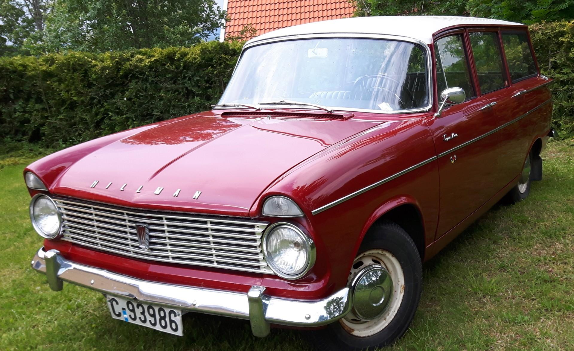 1962 Hillman Super Minx Stasjonsvogn