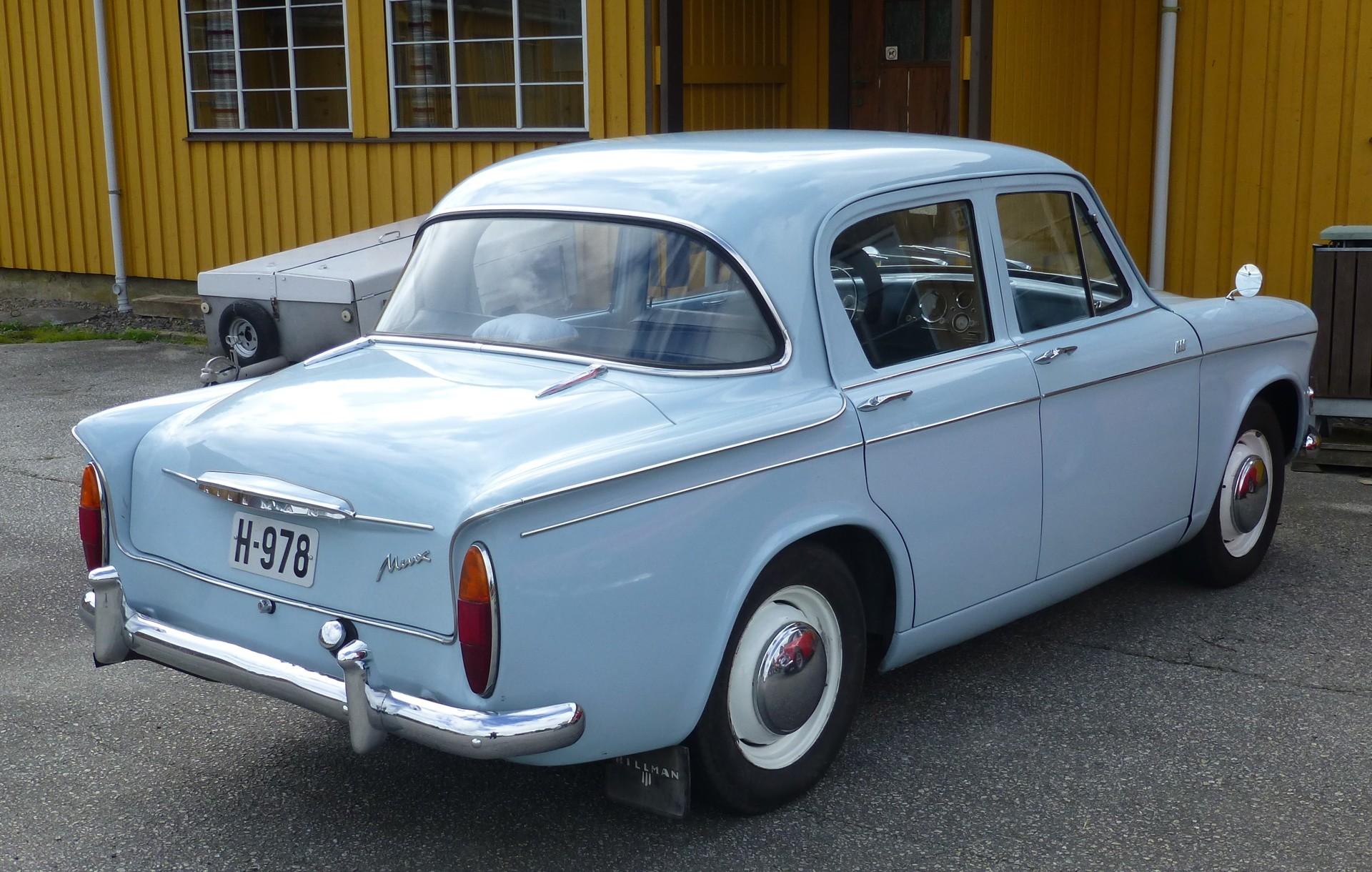 1963 Hillman Minx S IIIC