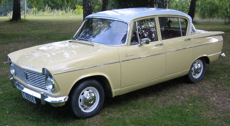 1963 Hillman Super Minx Mk II