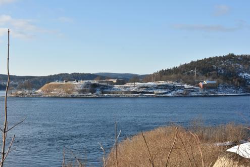 Vinterbilder fra Husvik og Veisvingbatteriet
