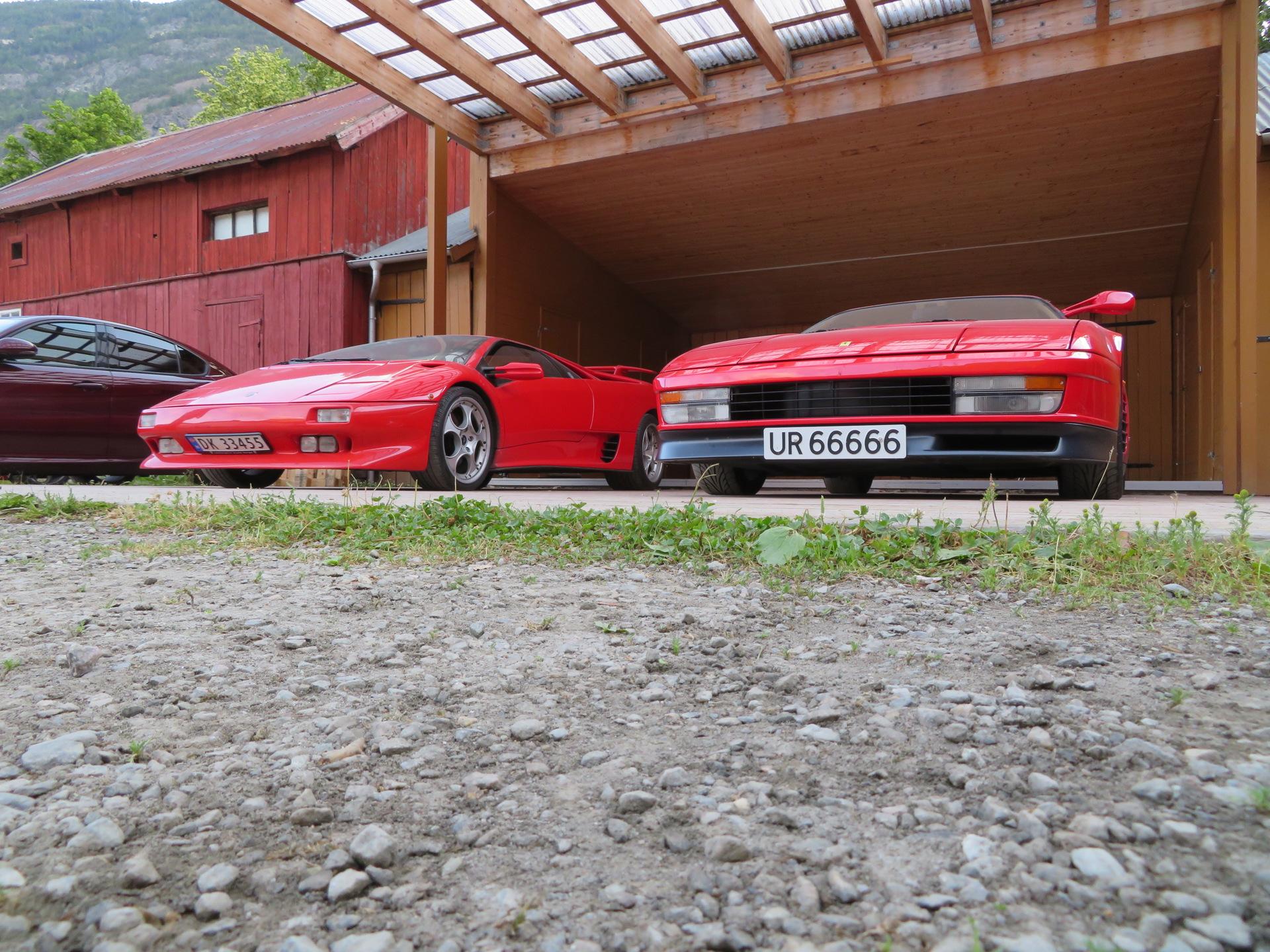 Ferrari Testarossa og Lamborghini Diablo(5).JPG