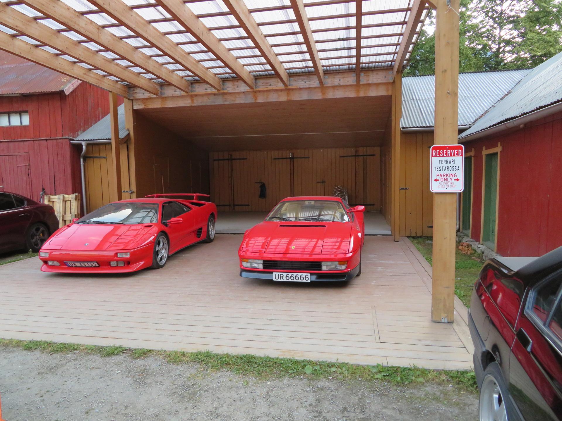 Ferrari Testarossa og Lamborghini Diablo(4).JPG