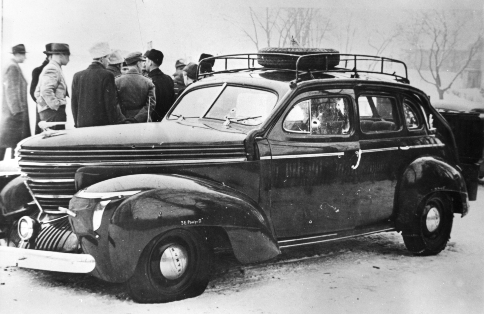 Karl Marthinsen 8feb1945 Bilen utv - Glomdalsmusee