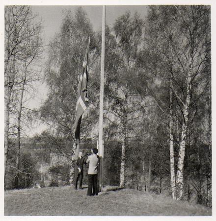 Bildene kommer fra Ingun Orderud, og familiens fotoalbum. Hennes far, John Mork, arbeidet på Skansen fra 1954 til 1987.