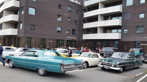 Mange av brukerne ved Måsan Aktivitetssenter fikk seg en hyggelig kjøretur, noe som var meget populært! Foto: Espen Hoftvedt
