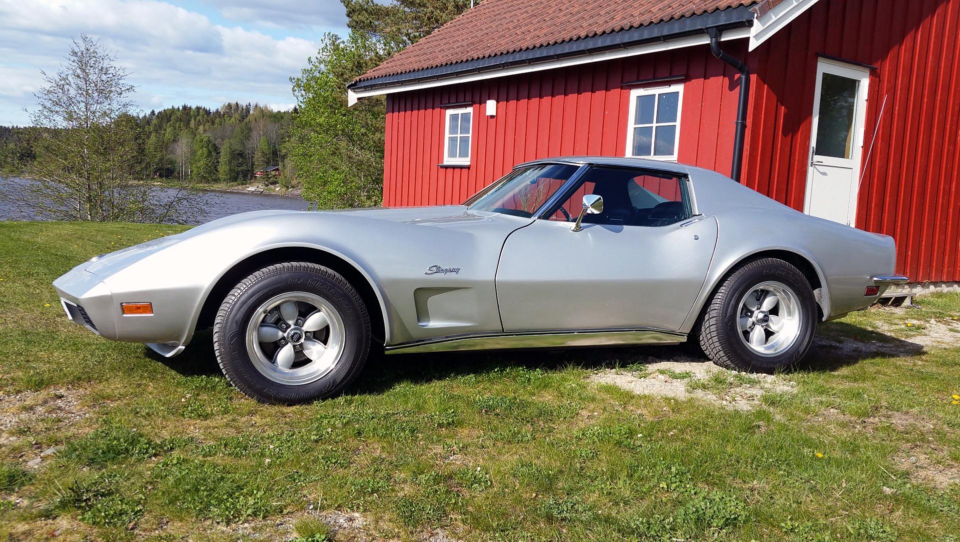 001-1973 Chevrolet Corvette Stingray 01, Eier, med
