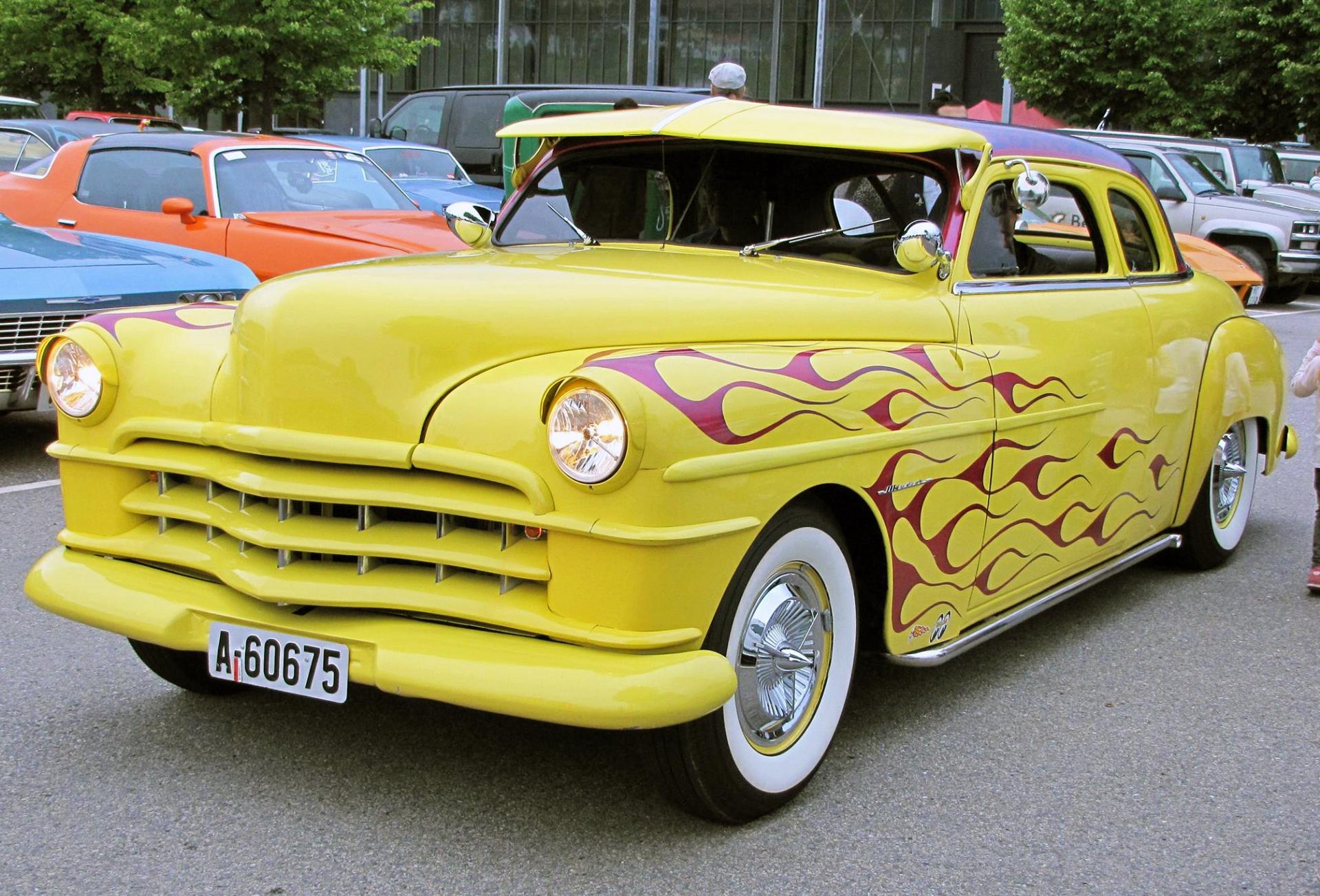 008-1950 Chrysler Windsor coupe 02, Eier, 008 Mort