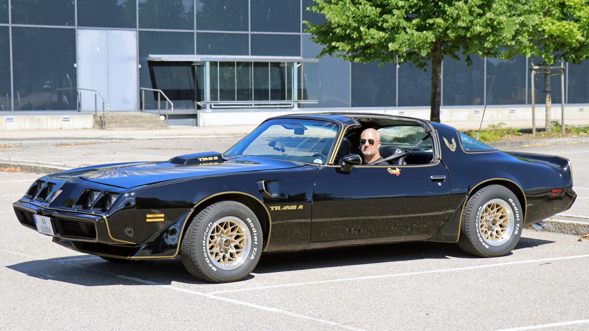 141-1979 Pontiac Trans Am. Eier- medlem 141 Frode