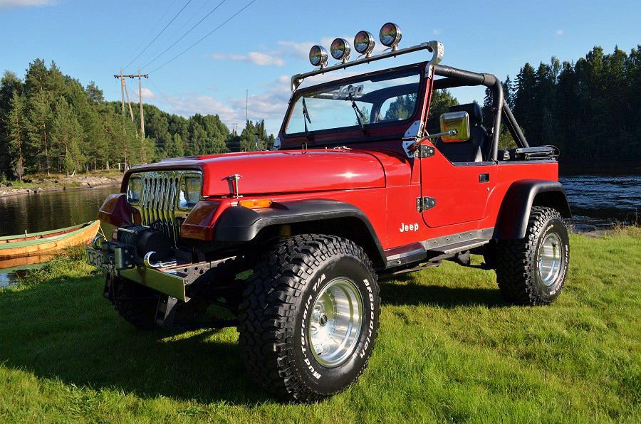 141-1987 Jeep Wrangler YJ 4.0 Litre inline six. Ei