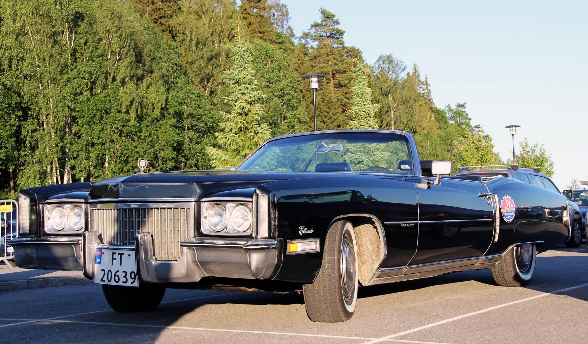 135-1972 Cadillac Eldorado convertible. Eiere- Eli