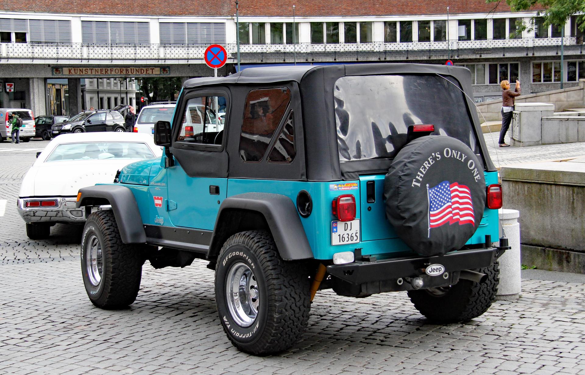 167-1997 Jeep Wrangler TJ 02. Eier- medlem 167 Joh