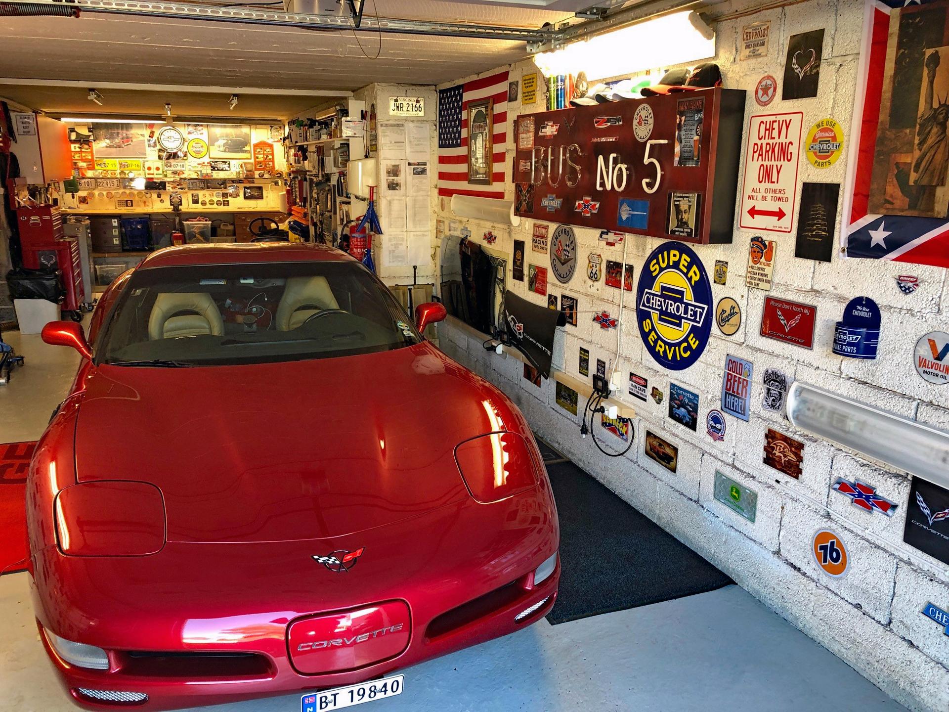 214-2001 Corvette C5 02. Eier- medlem 214 Jan Skre