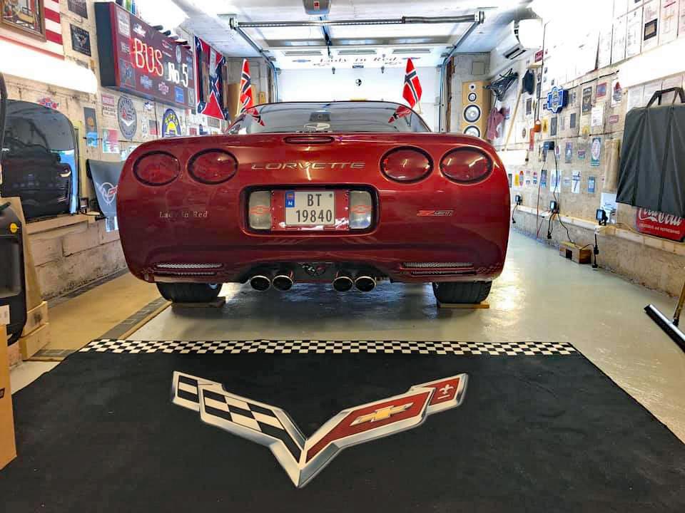 214-2001 Corvette C5 03. Eier- medlem 214 Jan Skre