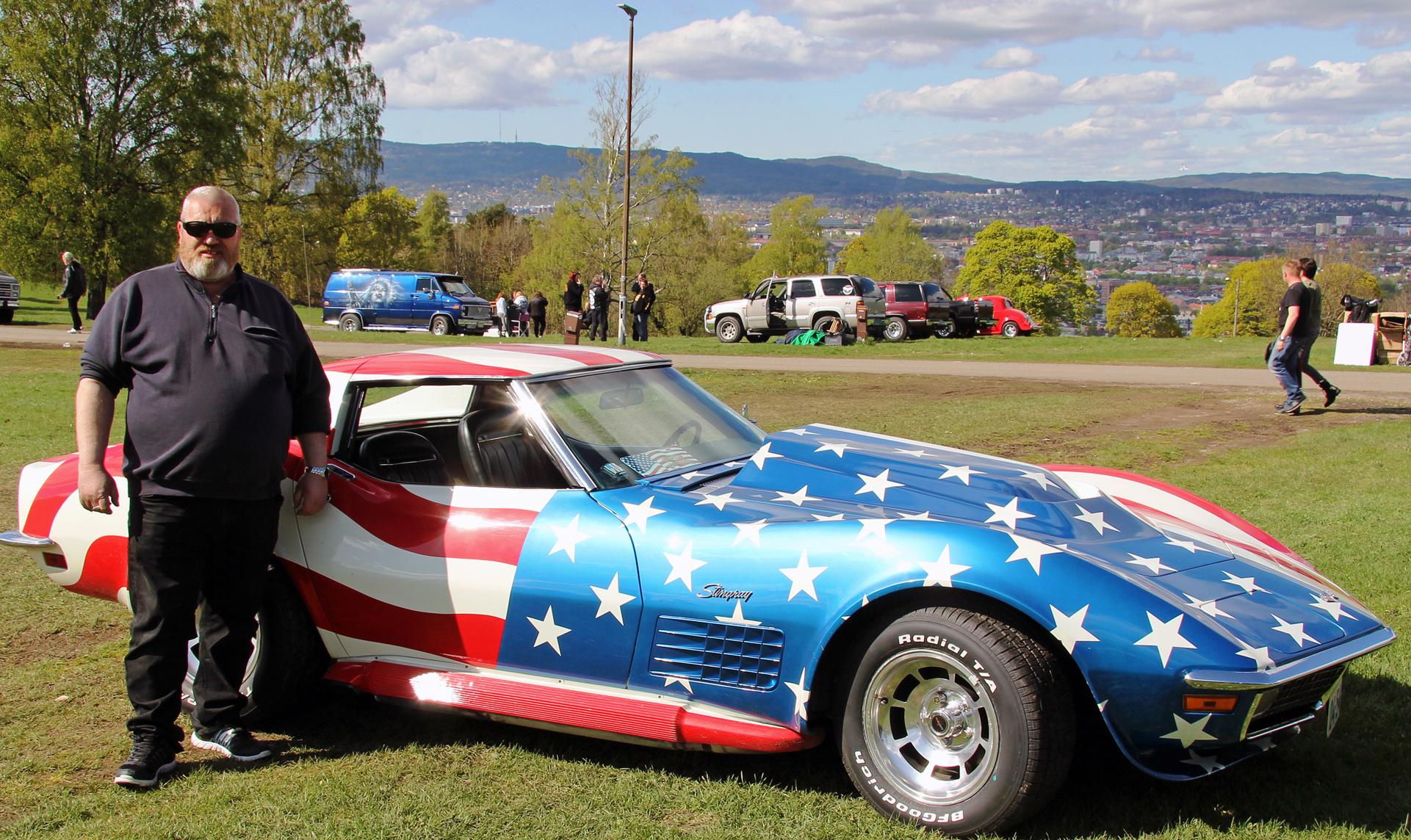222-1970 Chevrolet Corvette 01. Eier- medlem 222 J