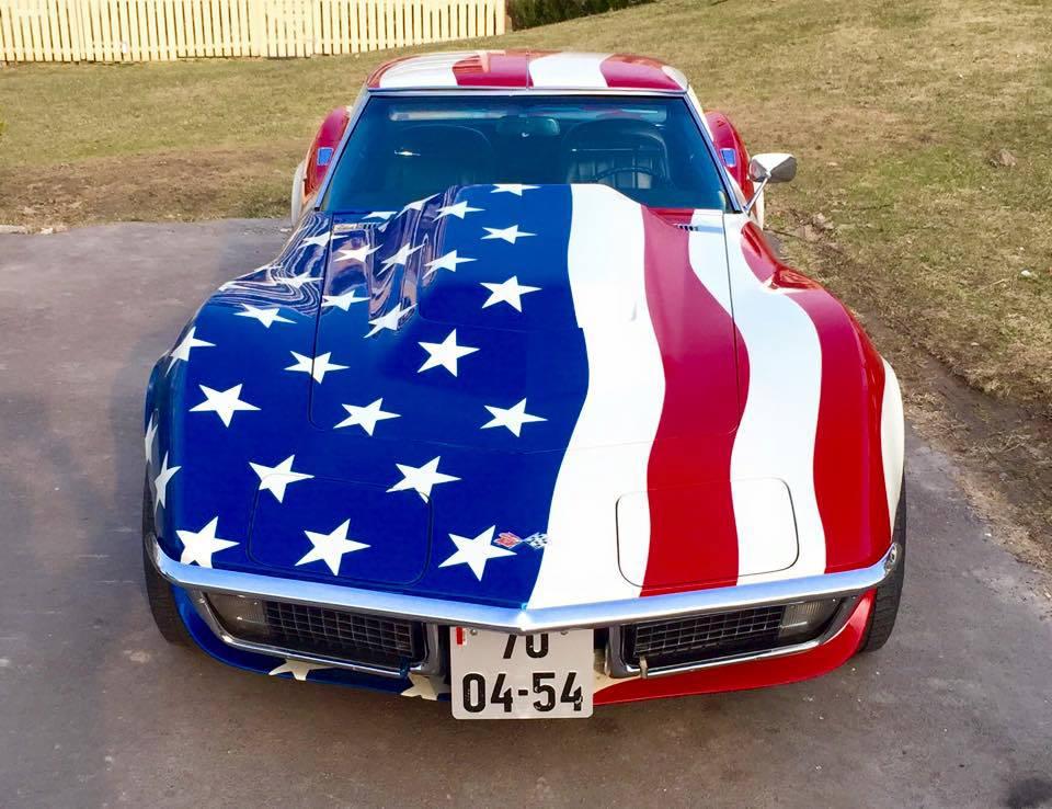 222-1970 Chevrolet Corvette 02. Eier- medlem 222 J