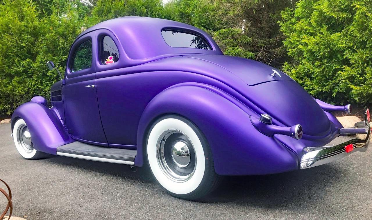 234-1936 Ford 5 window coupe, street rod 01. Eier-