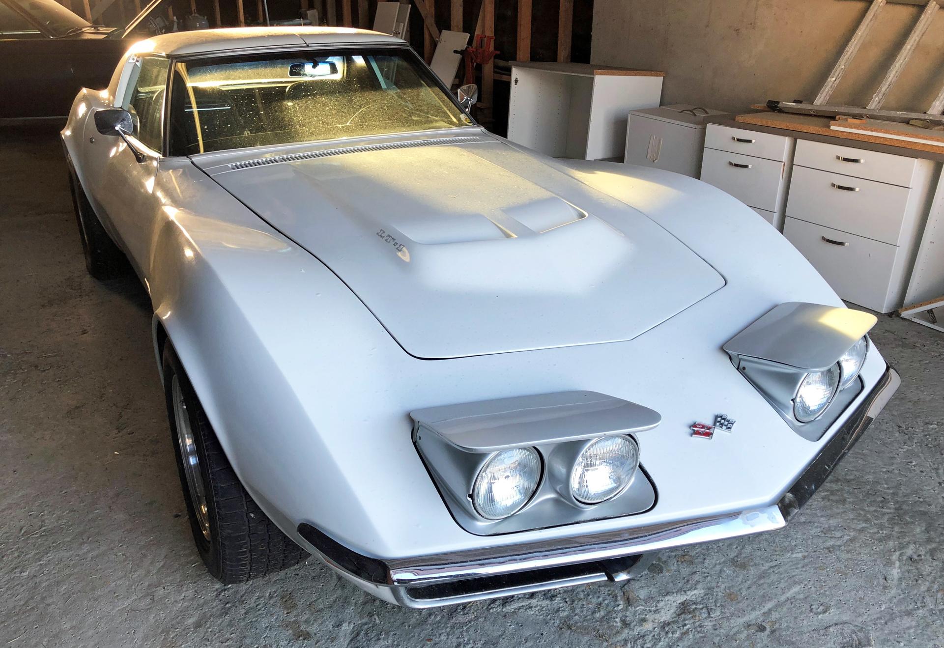 234-1972 Chevrolet Corvette Stingray 01. Eier- med