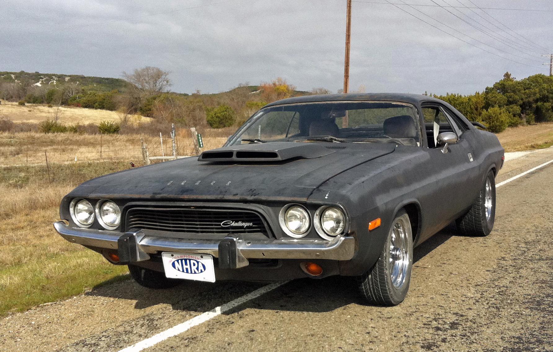 234-1973 Dodge Challenger 01. Eier- medlem 234 Roa