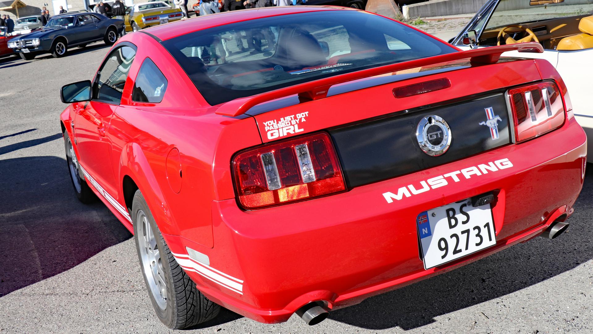 265-2005 Ford Mustang GT 02. Eier- medlem 265 Niko