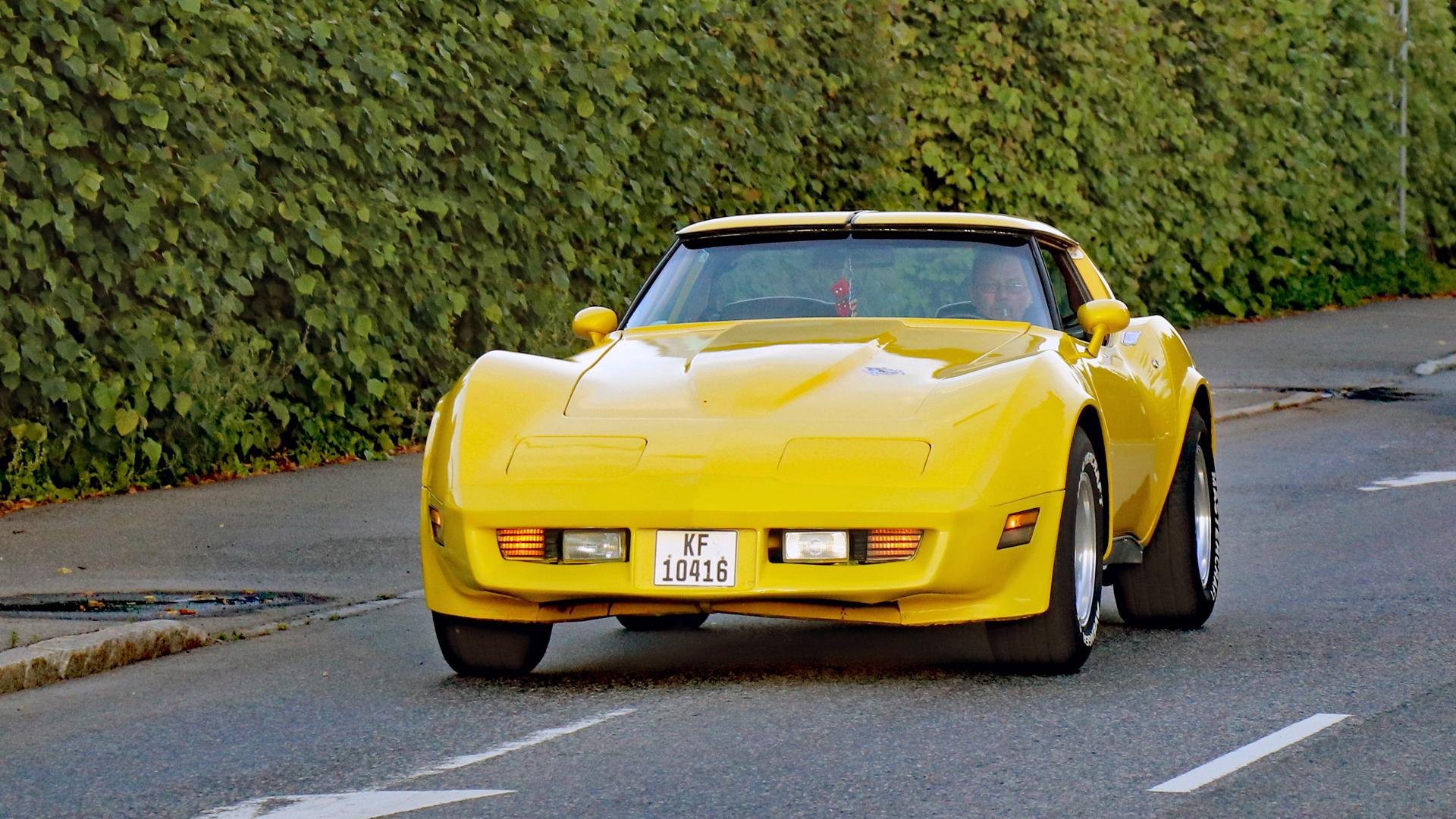 277-1980 Chevrolet Corvette 01. Eier- medlem 277 J
