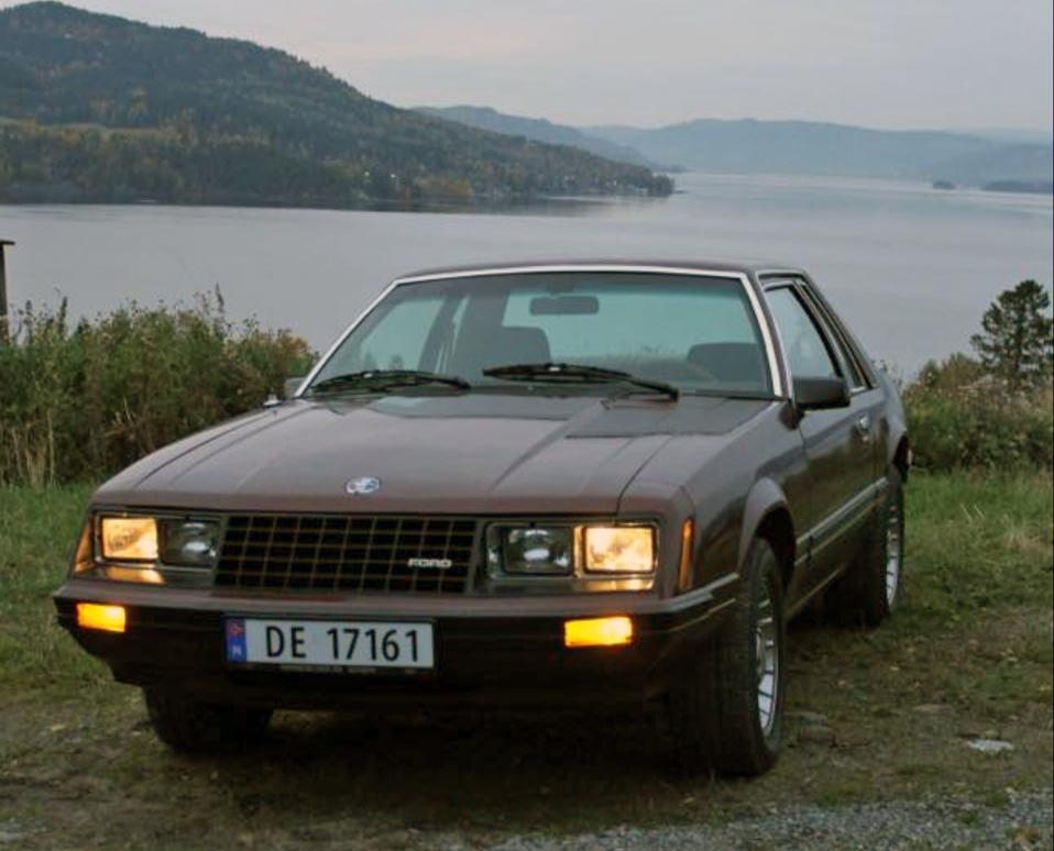 252-1980 Ford Mustang 01. Eier- medlem 252 Morten