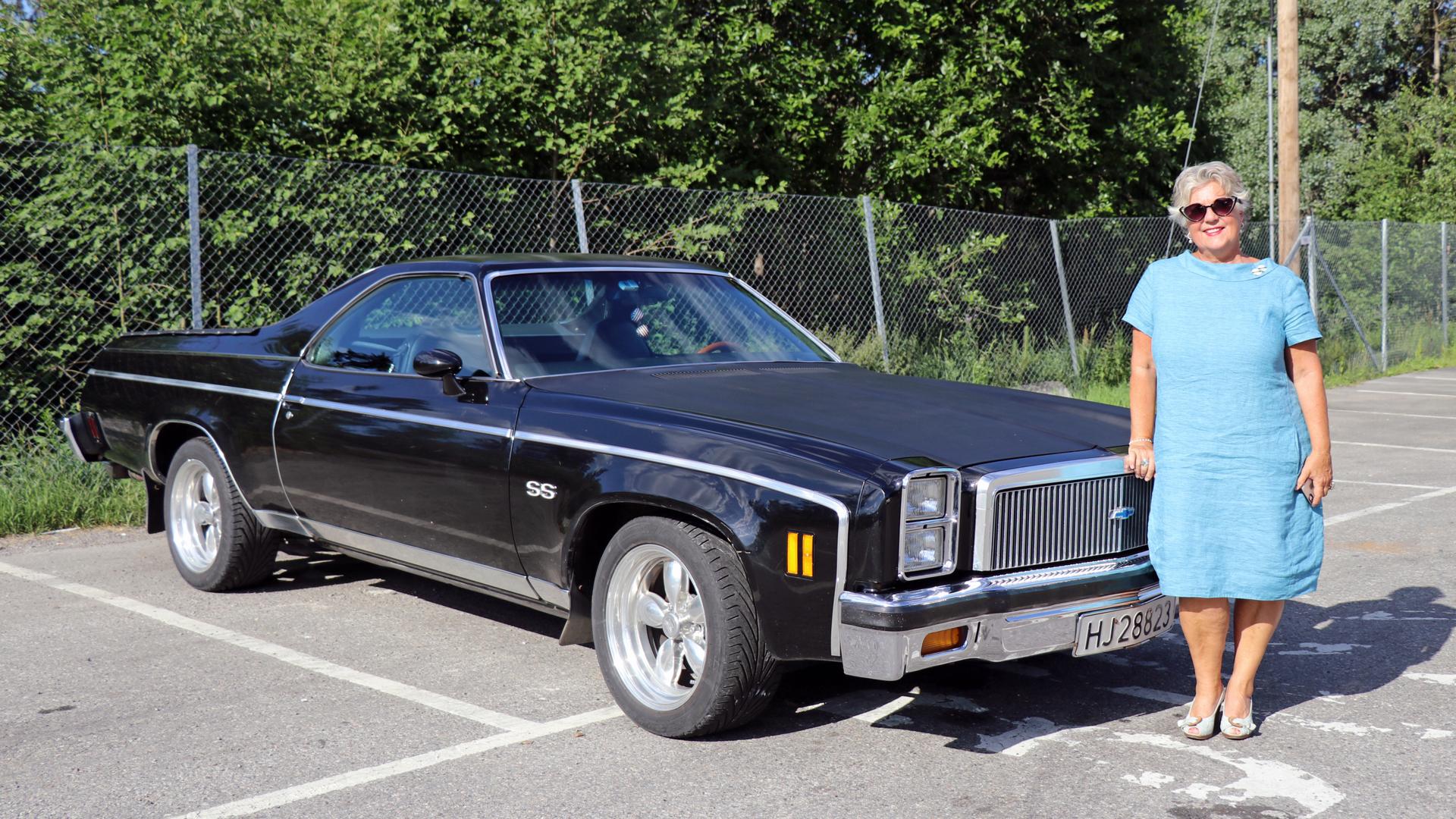 147-1977 Chevrolet El Camino SS 01. Eier- medlem 1
