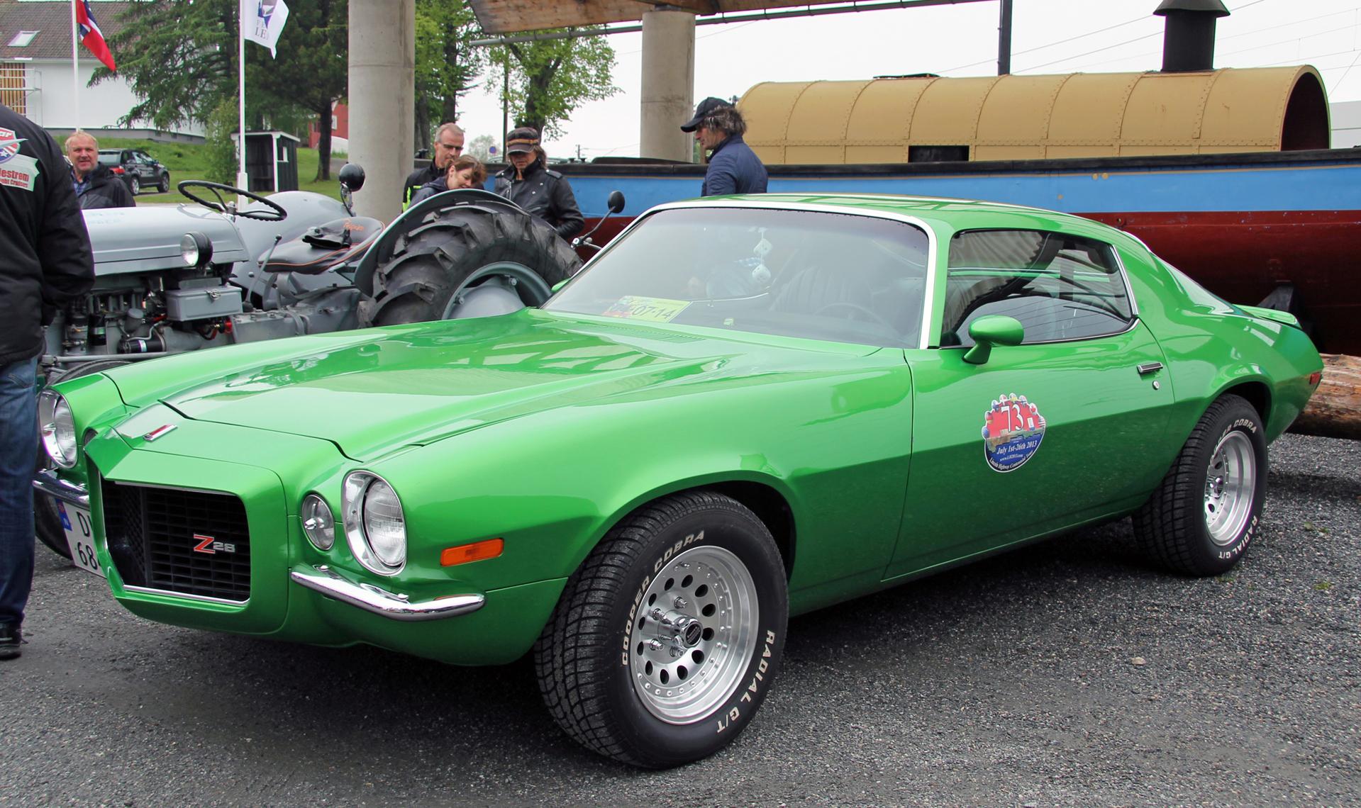 066-1973 Chevrolet Camaro Z28 01. Eier- medlem 066