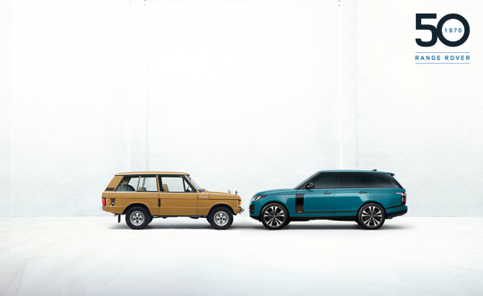 RANGE ROVER MARKS 50 YEARS OF ALL-TERRAIN INNOVATION AND LUXURY WITH EXCLUSIVE NEW LIMITED EDITION 17 JUNE 2020 https://media.landrover.com/news/2020/06/range-rover-marks-50-years-all-terrain-innovation-and-luxury-exclusive-new-limited