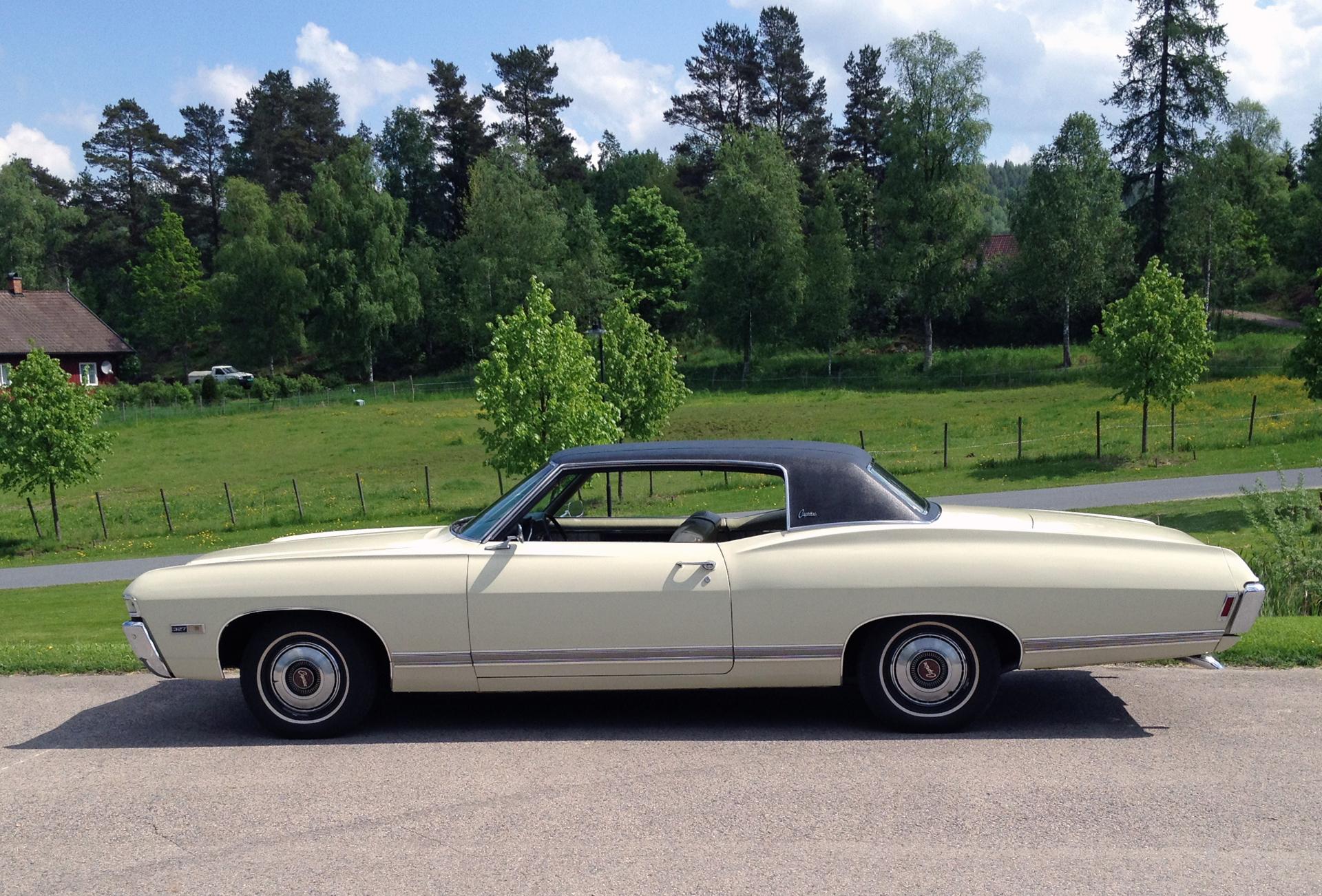 183-1968 Chevrolet Caprice 01. Eier- medlem 183 Ul